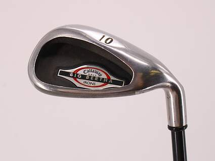 Callaway 2002 Big Bertha Single Iron Pitching Wedge PW Callaway RCH 75i Graphite Stiff Right Handed 35.5in