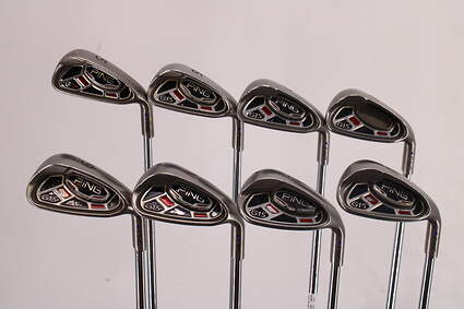 Ping G15 Iron Set 5-PW GW SW Ping AWT Steel Regular Right Handed Purple dot 37.5in