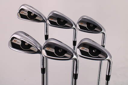 Ping G400 Iron Set 6-PW GW AWT 2.0 Steel Stiff Right Handed Black Dot 37.5in