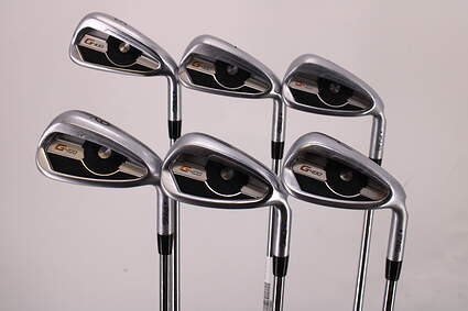 Ping G400 Iron Set 6-PW GW AWT 2.0 Steel X-Stiff Right Handed Blue Dot 38.25in