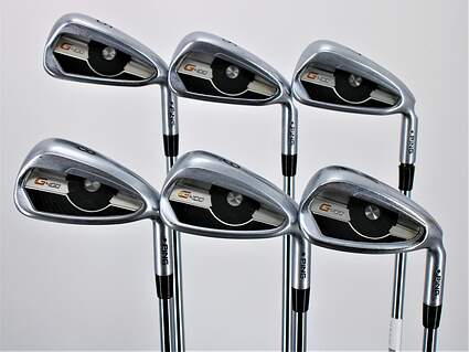Ping G400 Iron Set 5-PW Project X LZ 6.0 Steel Stiff Right Handed Black Dot 38.5in