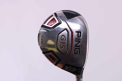 Ping G15 Draw Fairway Wood 3 Wood 3W 15.5° Ping TFC 149F Graphite Regular Right Handed 42.75in