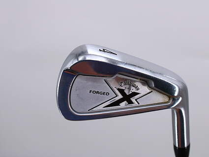 Callaway X Forged Single Iron 4 Iron True Temper Black Gold Steel Stiff Right Handed 38.0in