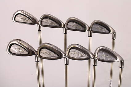 Callaway X-14 Iron Set 4-PW SW Callaway Gems Graphite Ladies Right Handed 37.25in
