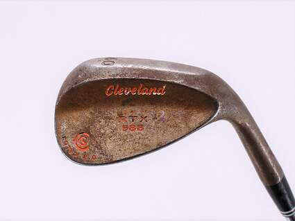 Cleveland 588 RTX 2.0 Tour Satin Wedge Lob LW 60° Cleveland ROTEX Wedge Steel Wedge Flex Right Handed 35.0in