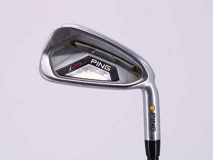 Ping I25 Single Iron 6 Iron Ping TFC 189i Graphite Regular Right Handed Yellow Dot 37.5in