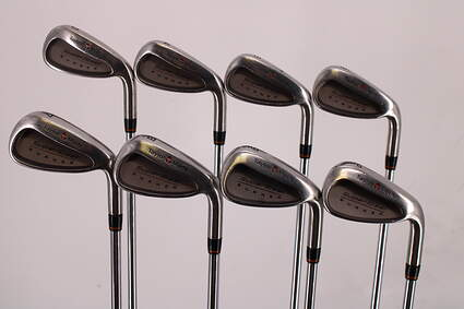 TaylorMade Supersteel Iron Set 3-PW TM S-90 Steel Stiff Right Handed 38.25in