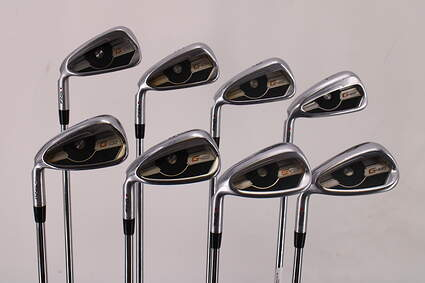Ping G400 Iron Set 4-PW GW Nippon NS Pro Modus 3 Tour 105 Steel Regular Left Handed Red dot 38.5in