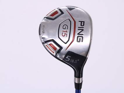 Ping G15 Draw Fairway Wood 5 Wood 5W 18.5° L Tech 60w Graphite Ladies Right Handed 40.5in