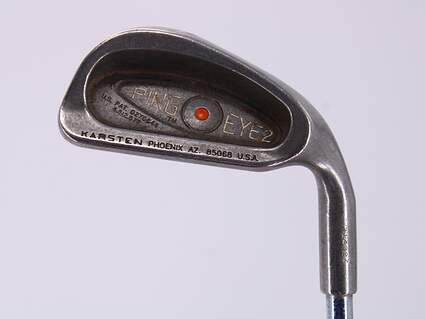 Ping Eye 2 Single Iron 6 Iron Ping ZZ Lite Steel Stiff Right Handed Orange Dot 36.5in