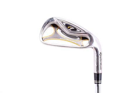 TaylorMade R7 Single Iron 6 Iron TM T-Step 90 Steel Regular Right Handed 37.75in