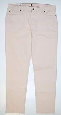 New Mens Johnnie-O Sawyer Pants 38 x32 Pink MSRP $50 JMPA1330 MSRP $145