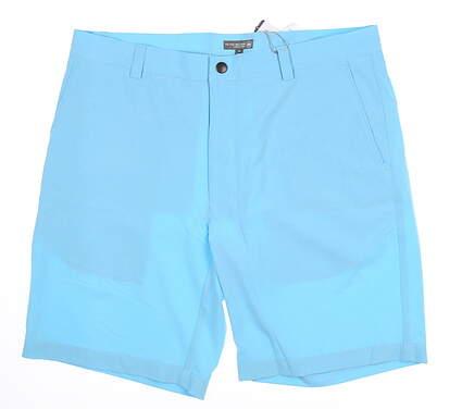 New Mens Peter Millar Golf Shorts 34 Blue MSRP $95 MS18EP01