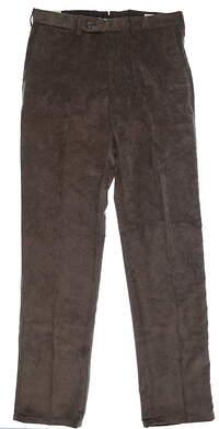 New Mens Peter Millar Corduroy Pants 34 Brown MSRP $145 MF15B91