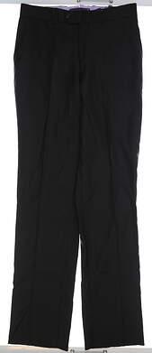 New Mens Aristo Dress Pants 33xUn-Hemmed Black MSRP $185 GATS91010