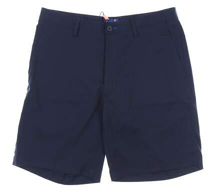 New Mens Stitch Tech Golf Shorts 36 Navy Blue MSRP $90 000S6000