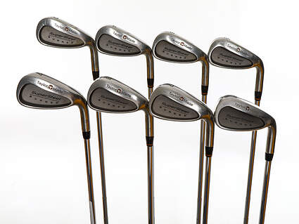 TaylorMade Supersteel Iron Set 3-PW True Temper Dynamic Gold R300 Steel Regular Right Handed 37.25in