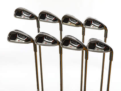 Ping G20 Iron Set 3-PW Ping CFS Steel Stiff Right Handed Green Dot 37.5in