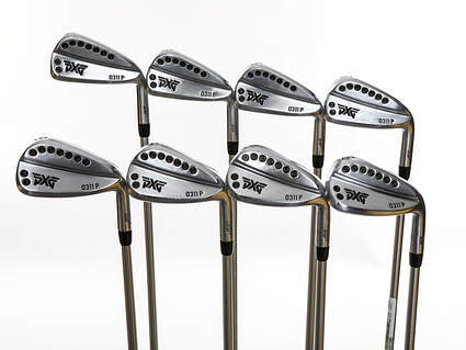 PXG 0311 P GEN2 Chrome Iron Set 4-PW GW FST KBS Tour C-Taper Lite Steel Regular Right Handed 38.0in
