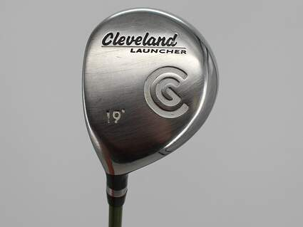 Cleveland Launcher Fairway Wood 5 Wood 5W 19° Aldila NV 55 Graphite Stiff Left Handed 42.75in