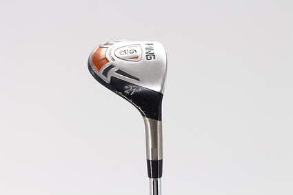 Ping G10 Hybrid 3 Hybrid 21° Ping AWT Steel Stiff Right Handed 39.0in