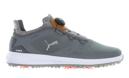 New Mens Golf Shoe Puma IGNITE PWRADAPT Disc Medium 9 Quiet Shade MSRP $150 190582 03