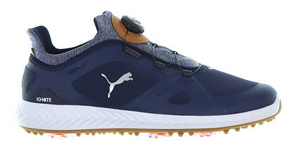 New Mens Golf Shoe Puma IGNITE PWRADAPT Disc Medium 14 Peacoat MSRP $150 190582 05