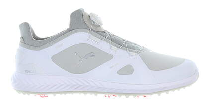 New Mens Golf Shoe Puma IGNITE PWRADAPT Disc Medium 7.5 White MSRP $150 190582 01