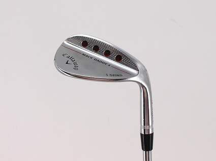 Callaway Mack Daddy 4 Chrome Wedge Sand SW 56° 10 Deg Bounce KBS Tour 130 Steel X-Stiff Right Handed 35.0in