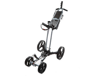 New Sun Mountain Pathfinder 4 Cement Gray Push and Pull Cart (In Stock, Ships Today)!