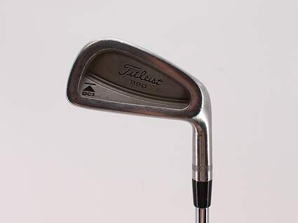 Titleist DCI 990 Single Iron 5 Iron Stock Steel Shaft Steel Regular Right Handed 38.0in