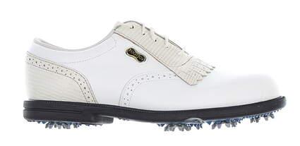 New Womens Golf Shoe Footjoy Dryjoys Medium 7 White MSRP $160 99174