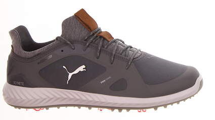 New Mens Golf Shoe Puma IGNITE PWRADAPT Medium 10 Quiet Shade MSRP $150 189891 03