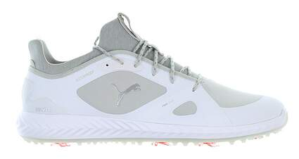New Mens Golf Shoe Puma IGNITE PWRADAPT Medium 14 White/Grey MSRP $150 189891 01