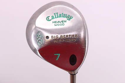 Callaway Big Bertha Warbird Fairway Wood 7 Wood 7W Callaway Gems Graphite Ladies Right Handed 40.75in