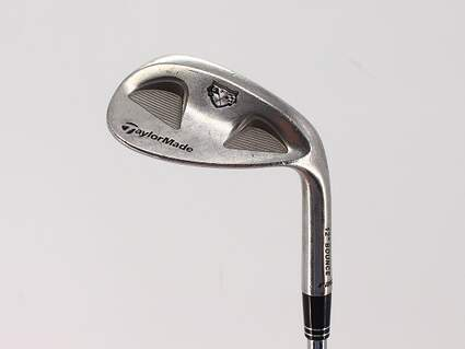 TaylorMade Rac Satin Tour TP Wedge Sand SW 56° 12 Deg Bounce True Temper Dynamic Gold Steel Wedge Flex Right Handed 35.5in
