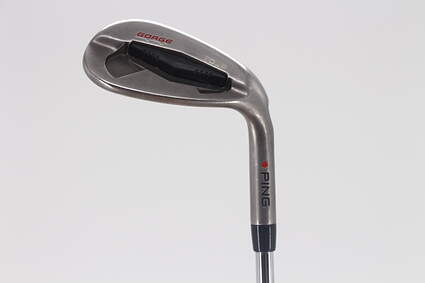 Ping Tour Gorge Wedge Sand SW 56° FST KBS Tour Steel Stiff Right Handed Red dot 35.5in