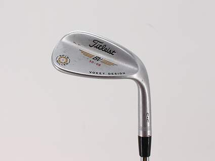 Titleist Vokey Spin Milled CC Chrome Wedge Gap GW 50° 8 Deg Bounce Project X 6.5 Steel X-Stiff Right Handed 36.0in