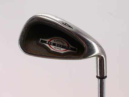 Callaway 2002 Big Bertha Single Iron 4 Iron Callaway Big Bertha Steel Steel Uniflex Right Handed 39.5in