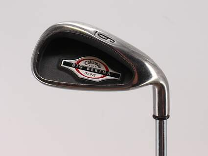 Callaway 2002 Big Bertha Single Iron 6 Iron Callaway Big Bertha Steel Steel Uniflex Right Handed 38.5in