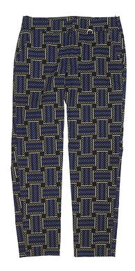 New Womens EP Sport Golf Pants 8 Multi MSRP $73 2209SAB