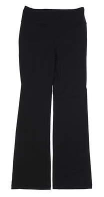 New Womens Ralph Lauren RLX Yoga Pants Large L Black MSRP $145