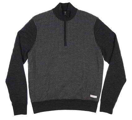New Mens SUNICE 1/4 Zip Windstopper Sweater Large L Gray MSRP $150