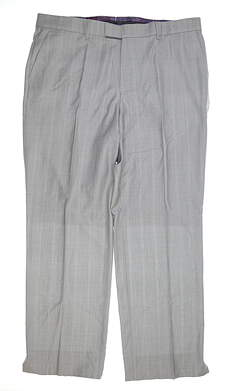 New Mens G-Mac Wool Trousers Size 40 Long Gray MSRP $135