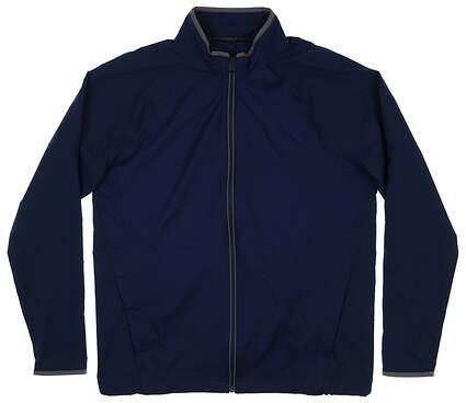 New Mens Under Armour Golf Jacket Large L Navy Blue MSRP $85