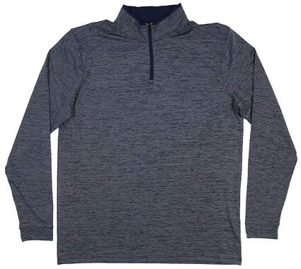 New Mens Under Armour 1/4 Zip Golf Pullover Large L Blue MSRP $75