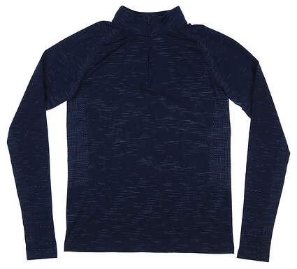 New Womens Under Armour 1/4 Zip Golf Pullover Small S Navy Blue MSRP $75