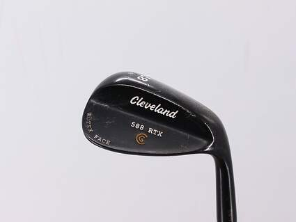 Cleveland 588 RTX Black Pearl Wedge Lob LW 58° 8 Deg Bounce True Temper Dynamic Gold Steel Wedge Flex Right Handed 35.25in