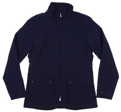 New Womens Peter Millar Katherine Diamond Quilted Jacket Medium M Navy MSRP $225