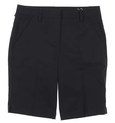 New Womens Puma Golf Shorts 2 Black MSRP $65